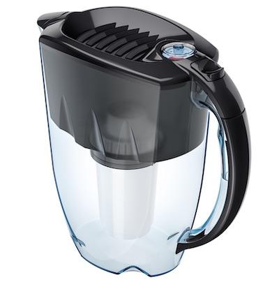 Kannenfilter Aquaphor Prestige mit Aqualen - schwarz perspektive 400