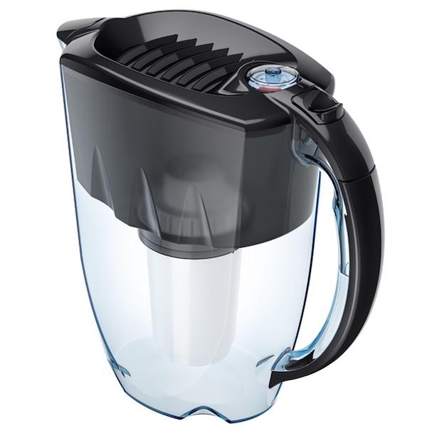 Kannenfilter Aquaphor Prestige mit Aqualen - schwarz perspektive 600