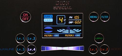 Display-Dion-Special-Wasserionisierer-basisches-Wasser