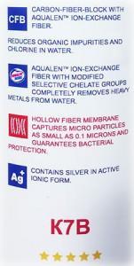 Aquaphor Filter Einsatz K7B Aqualen Wasserfilter mit Keimsperre