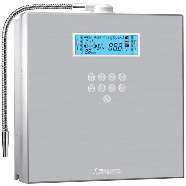 AquaVolta EOS Genesis Wasserionisierer - Wasserfilter - Herstellung basiches Wasserstoff Wasser 600