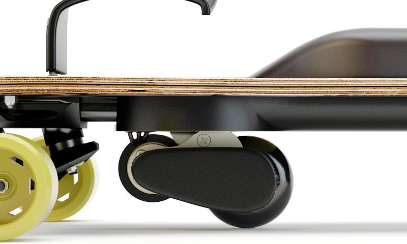 Leif-Electric-Snowboard-esnowboard-Nahaufnahme-Front