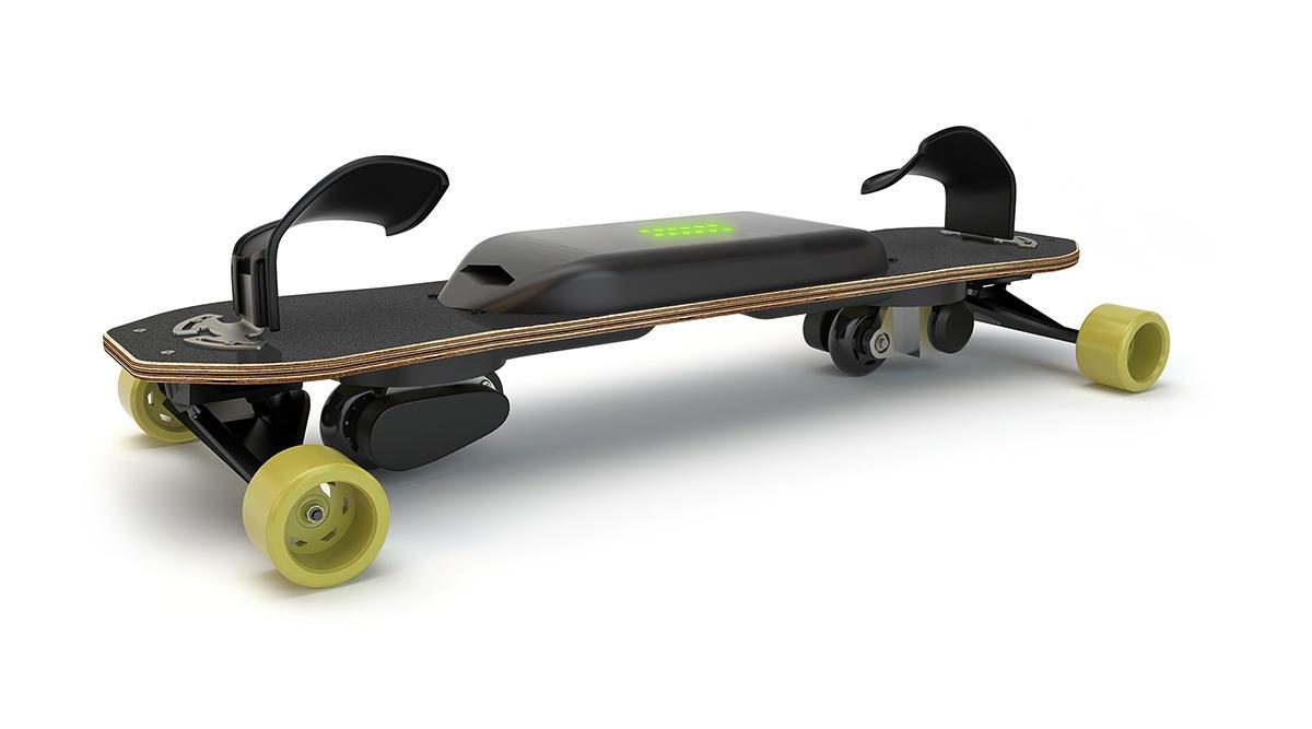 leif esnowboard elektronisches skate snowboarding. Black Bedroom Furniture Sets. Home Design Ideas