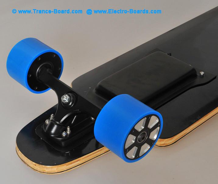 Electric Sateboard Longboard Topview motor in wheels
