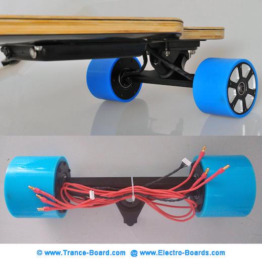 Electric Skateboard TranceBoard In-Wheel motor product-image2 k
