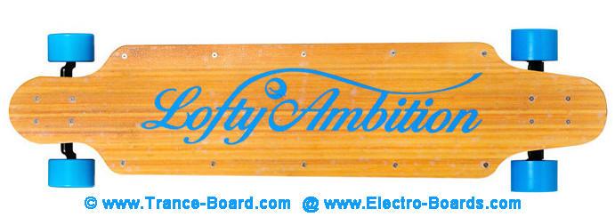 Trance-Board Electro-Board Electric Skateboard Longboard Motor In Wheel