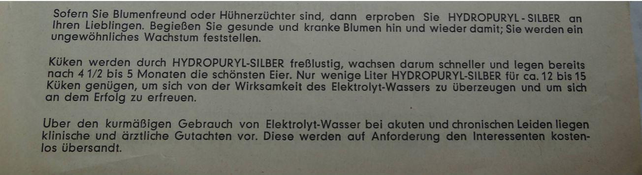 Elektrolyt Wasser 3