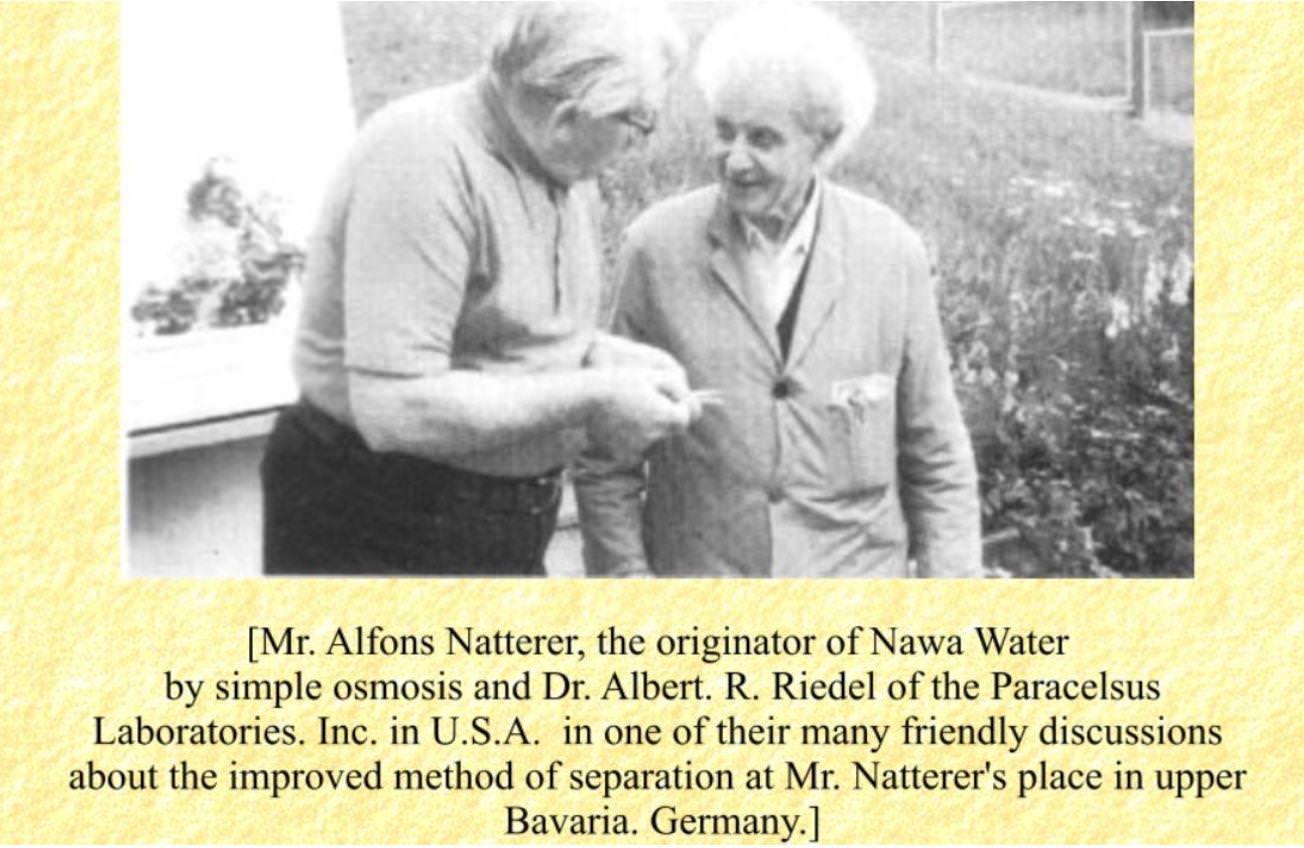 Natterer und Riedel