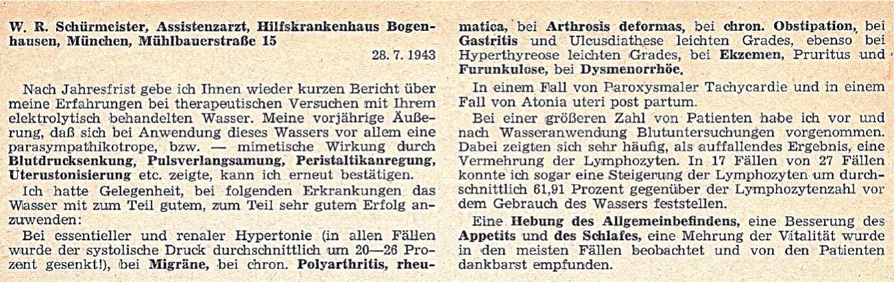 W. R. Schuermeister