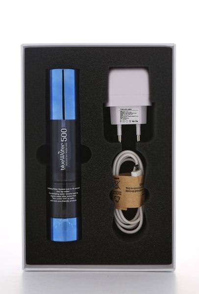 Aquacentrum Beaty Blue 500 Hydrogen Water Maker HRW Kosmetik-Lieferumfang-600
