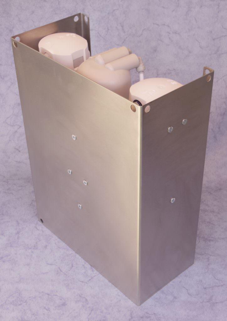 100-WasserWerk | Umkehrosmose-Anlage mit einstellbarem pH-Wert und Mineralien- und Wasserstoffgehalt 1200