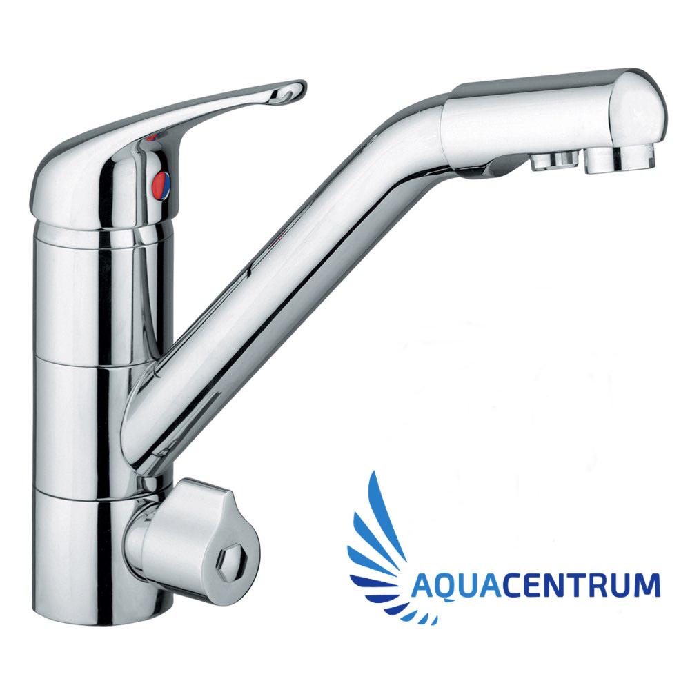 Hydroselect - Drei-Wege-Wasserhahn fuer Wasserfilter und Umkehrosmose-Anlagen-ac
