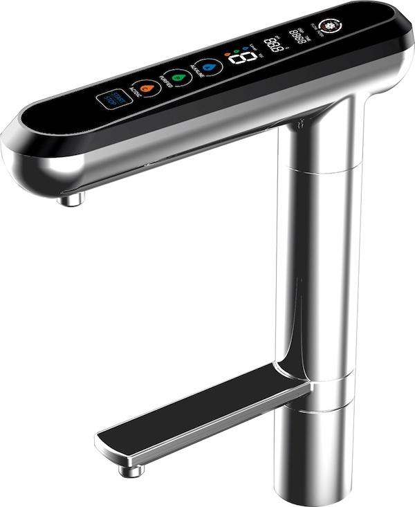 AquaVolta Elegance Untertisch Wasserionisierer Bedienhahn 2 600
