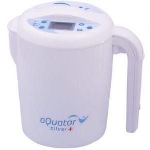 aQuator Silver   Topfionisierer   basisches, saures und kolloidales Silber-Wasser