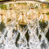 Aquadea Gold Duschbrause 7 Wirbelkammern Wasser