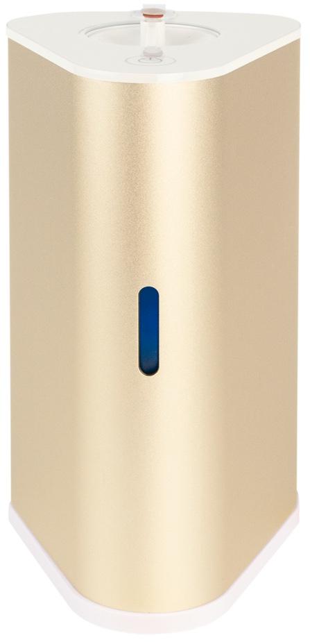 AquaVolta H2-Inhalator gold u H2-Infusor - Wasserstoff Inhalation u H2-Getraenke mixen