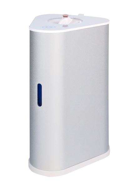 AquaVolta H2-Inhalator silber u H2-Infusor - Wasserstoff Inhalation u H2-Getraenke mixen 600 p