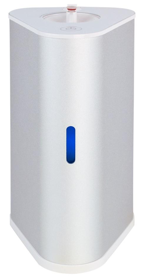 AquaVolta H2-Inhalator silber u H2-Infusor - Wasserstoff Inhalation u H2-Getraenke mixen