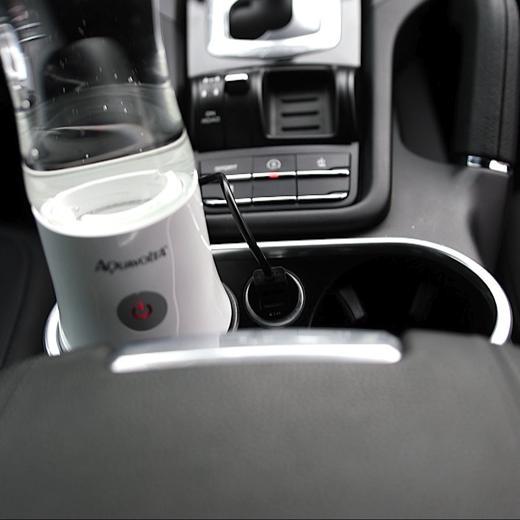 Age2go 2.8 Wasserstoff Generator beim laden Mittelkonsole Porsche Cayenne