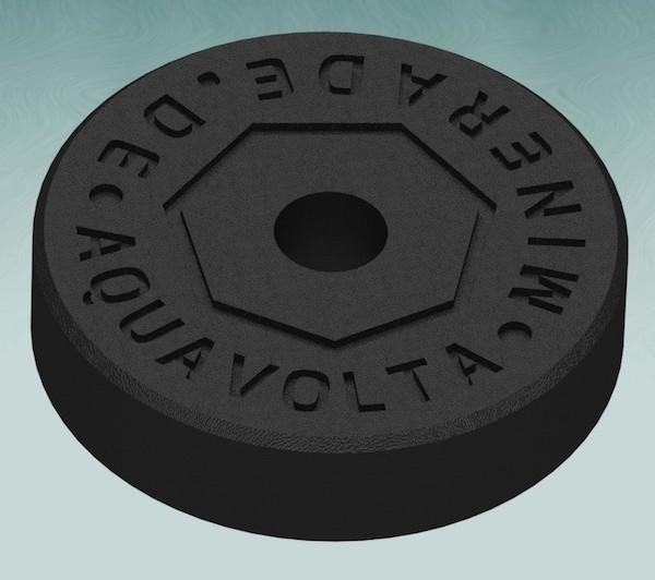 Minerade Sprudelkeramik zur Erhoehung des pH- und Senkung des ORP-Werts rueck perspek 600