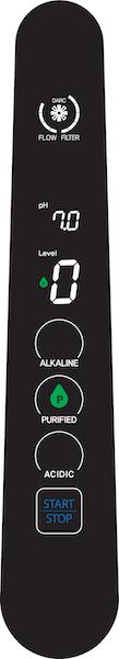 AquaVolta Elegance Wasserstoff-Wasser-Generator Bedienhahn - Stufe Purified 600