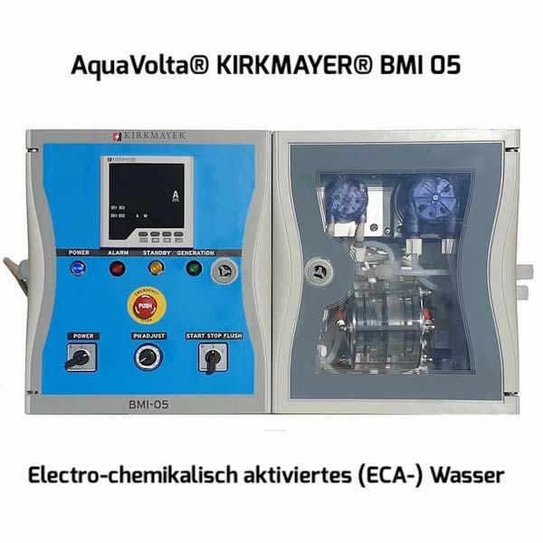 AquaVolta Kirkmayer BMI05 Anolyt -HClO-ECA-Generator 5 lph Desinfektionsmittel 600