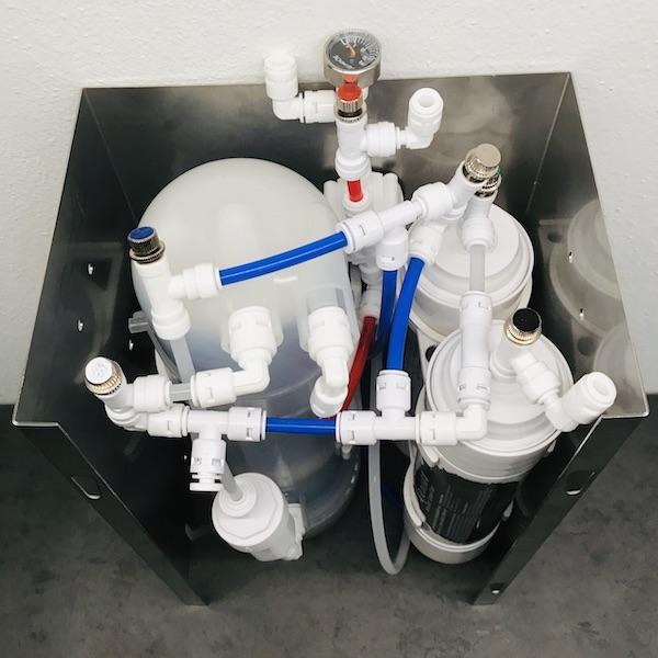 Osmion Umkehrosmose-Anlage - Herstellung von basischem H2-Wasser 600