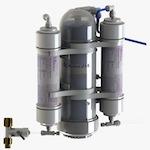 AquaVolta® OSMION 1000 GPD Umkehrosmose-Anlage mit Ph-Wert Anhebung und H2-Gas Anreicherung 150