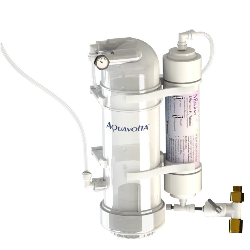 H2 Rocket für Minerade pH2 Tabs und Minerade H2-Shuttle