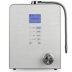 AQUAVOLTA Moses 7 Wasserionisierer inkl Filter - basisches Wasser