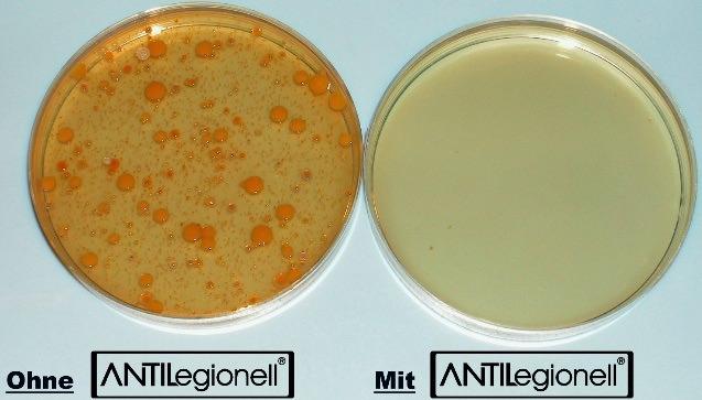mit und ohne Anti Legionell Aqua Carat ehem VitaVortex