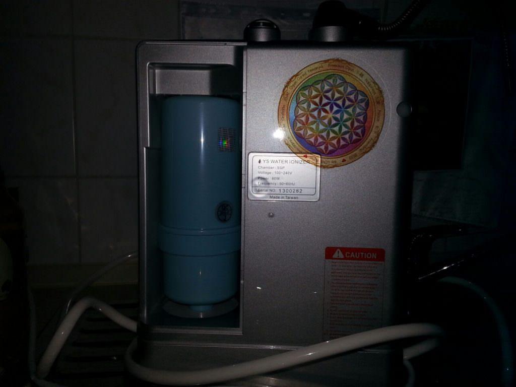 Wuendisch Yunsun Titanion SSP Zelle von hinten Filter