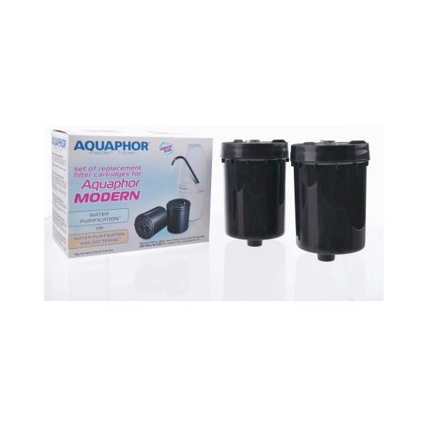 Ersatzfilter-Set für AQUAPHOR® Auftischfilter Modern (2 Stück) 2