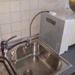 Aquavolta EOS Genesis Wasserhahn Installation 600