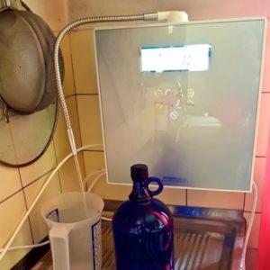 Aquavolta Eos Genesis Wasserionisierer mit Blauflasche 600