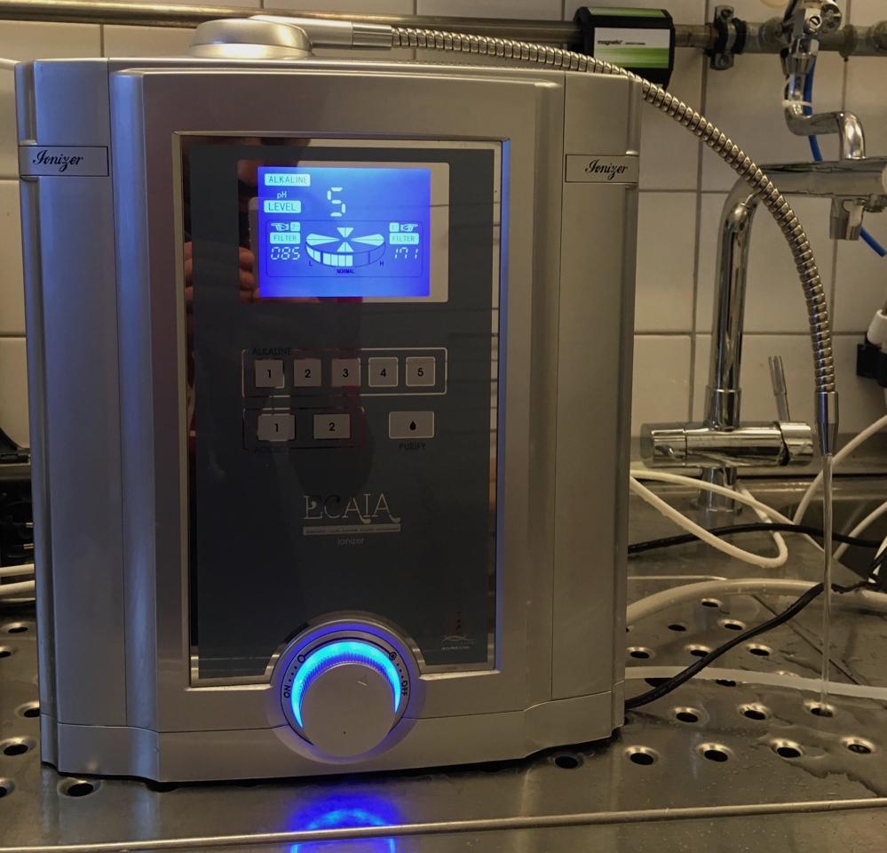 Biontech - Sanuslife - ECAIA Wasserionisierer Bj 2015 - kaum genutzt-04
