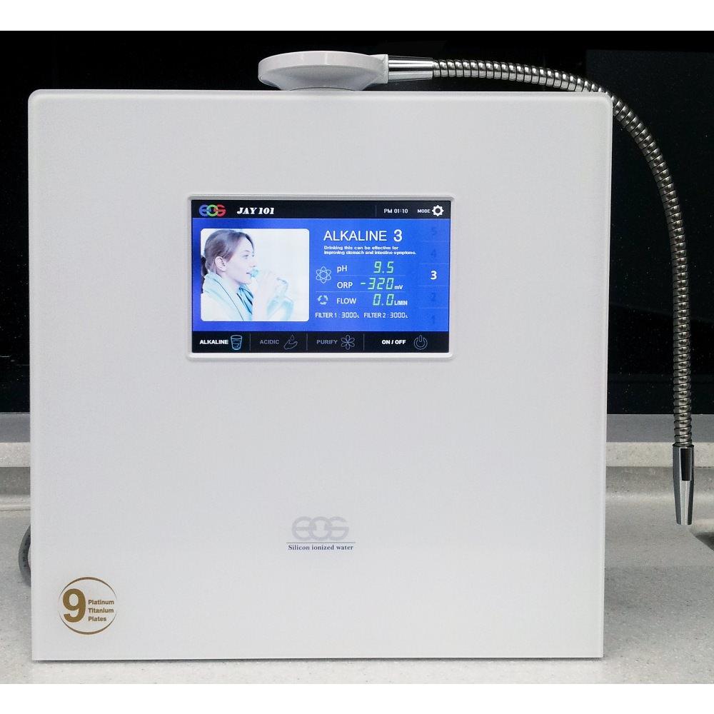 Aquavolta EOS Touch - 9 Elektroden Wasserionisierer mit 2 Wasserfilter