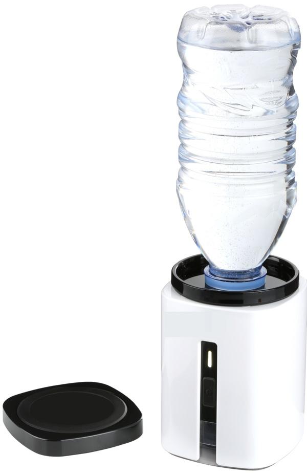AquaVolta Wasserstoff Booster portable PEM Hydrogen generator mit Flasche