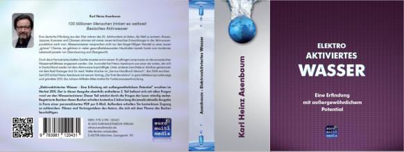 Buchcover Elektroaktiviertes Wasser Buch Asenbaum