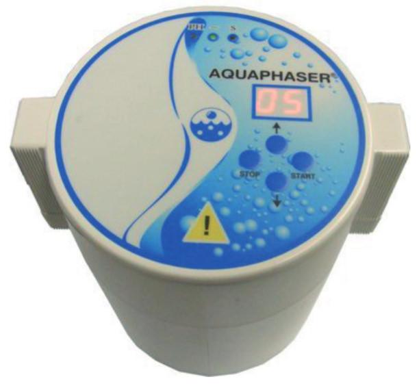 Aquator Topfionisierer Silver Mini ptv kl Aquaphaser Deckel