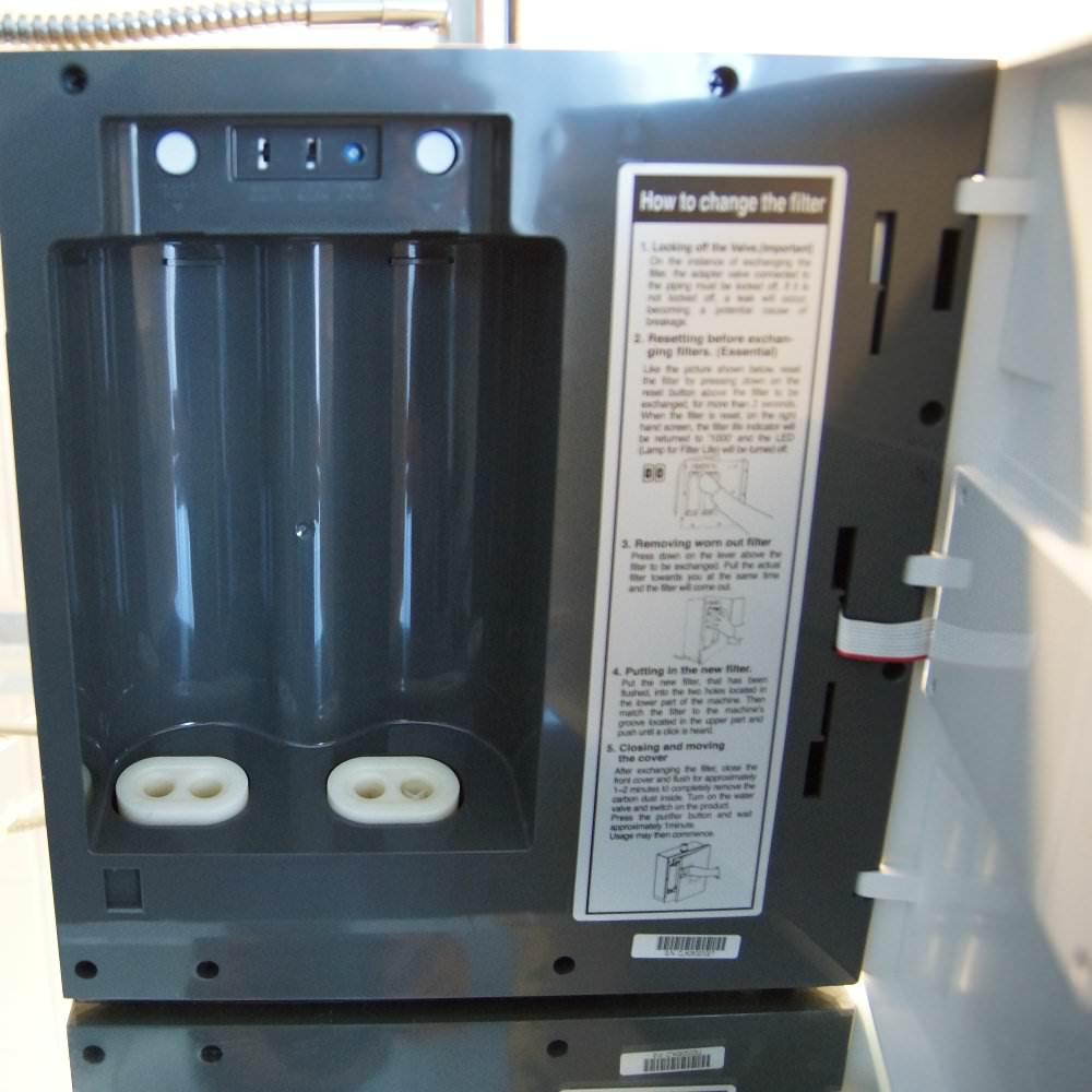 Mikrobank Zion CL 061 - Wasserionisierer Ersatzfilter fach1 und 2 1000