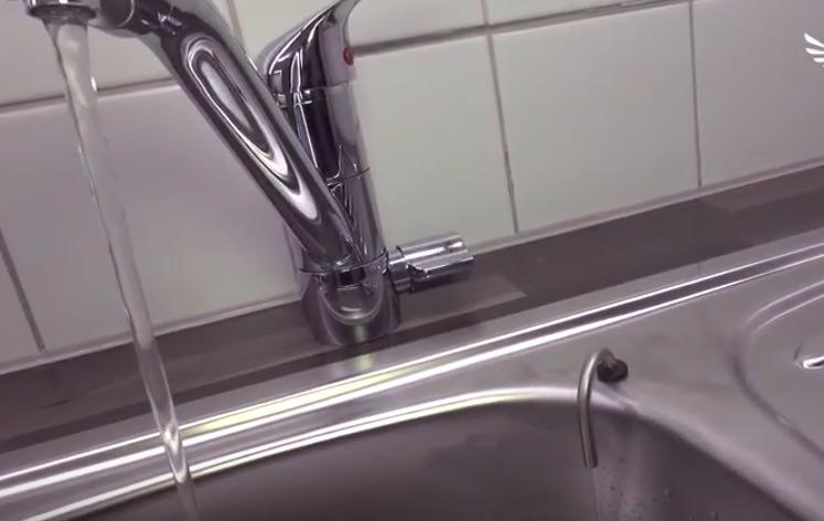 Separater Abwasserauslauf Umkehrosmoseanlage - druckfreischaltung