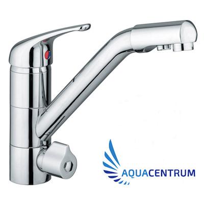 Hydroselect - Drei-Wege-Wasserhahn fuer Wasserfilter und Umkehrosmose-Anlagen-ac 400
