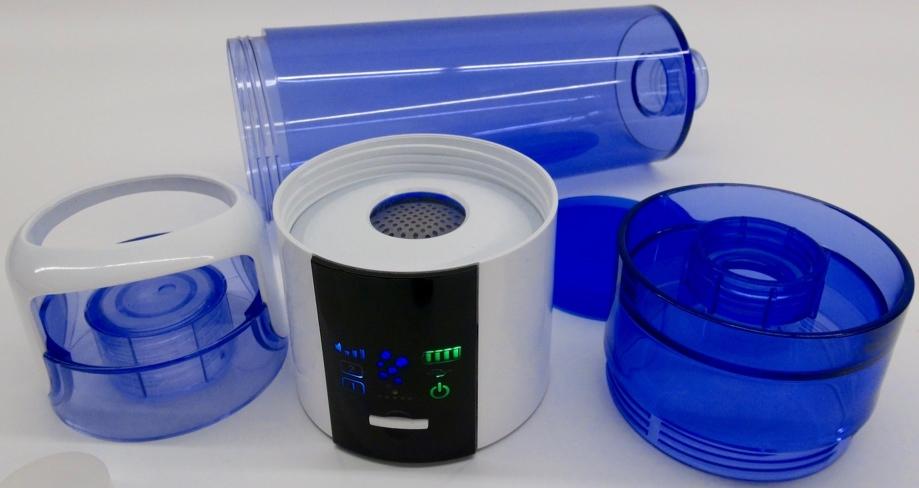Age2 Go Highdrogen® Water Maker mit PEM Zelle Liegende Flasche 2 Deckel Produktionseinheit