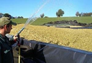 Envirolyte Anwendung ECA Wasser Anolyt Katolyt Silieren Gruenfutter 3
