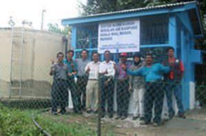 Envirolyte Anwendung ECA Wasser Anolyt Katolyt Trinkwasseraufbereitung Anolyt im Reservoir
