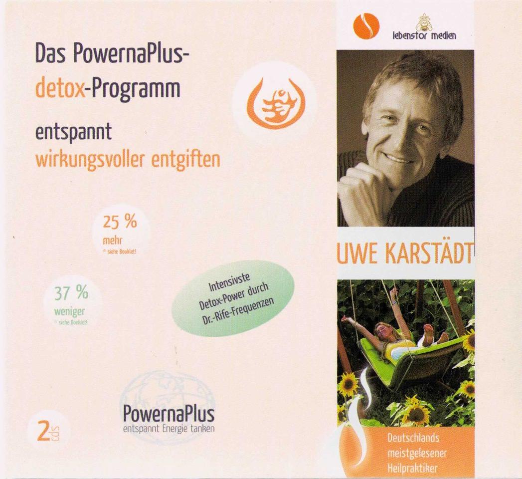 PowernapPlus detox-Programm - entspannt wirkungsvoller entgiften - Uwe Karstädt