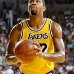Magic Johnson 1985 NBA Finals trinkt basisches Wasserstoffwasser