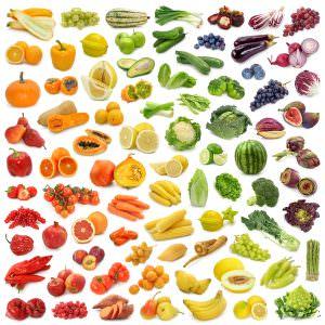 Obst und Gemuese chromatisch