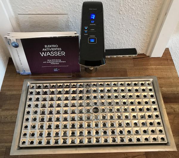 AquaVolta Elegance Untertisch Wasserionisierer 600